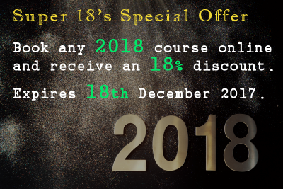 Our Train The Trainer course 2018 special offer price